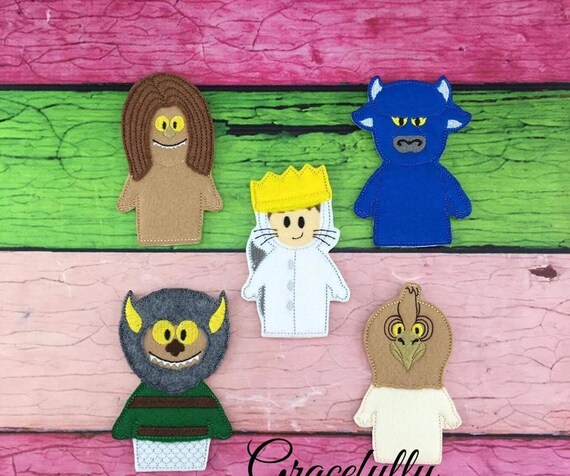 Where The Wild Things Are Finger Puppets