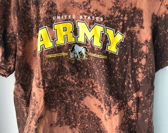 United States Army Distressed Tee