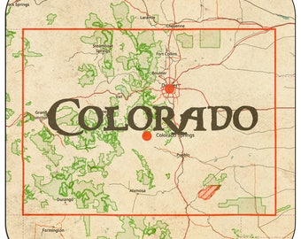 Colorado Coasters & Other Merchandise
