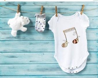 20% Music bodysuit, baby shower gift, cute baby clothes, baby one piece, baby romper, baby boy bodysuit, baby girl onesie, baby gift