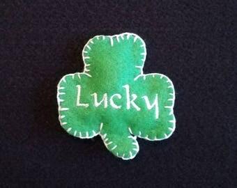 Lucky Shamrock Cookie