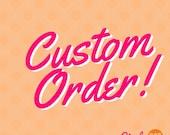 Custom Order for Krysti - Hammer(ed) Time Can Koozies