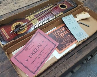 Antique Ukelin 1920's in original box