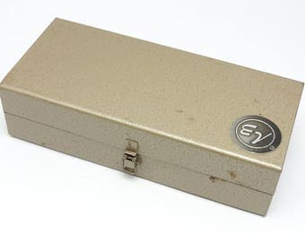 Vintage Electro-Voice Microphone Steel Case
