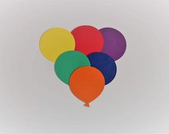 Balloons Die Cut