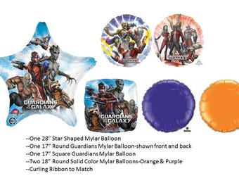 Guardians of the Galaxy Balloon Set