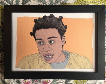 Orange is the New Black Suzanne Crazy Eyes Art Print