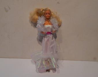 Vintage Crystal Barbie Doll in her Original Outfit Mattel 1980s
