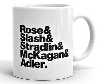 Guns 'N Roses Rock Band Mug
