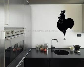 Blackboard Decal Wall decals Wall Stickers Blackboard Chef