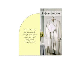 For Your Graduation Printable Money Gift Card Plus Envelope PDF Templates