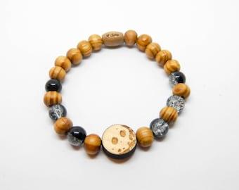 Wooden bracelet MOON