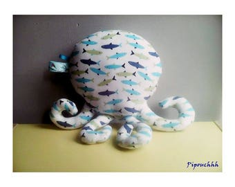 Decoration / toy Octopus fish pattern