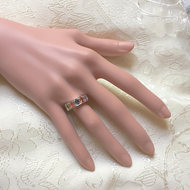 Edwardian Downton Abbey Jewelry 14k White & Gold Vermeil Multicolour ...