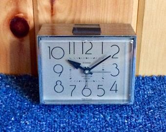 Westclox Alarm Clock - Electric Alarm Clock - Small Alarm Clock - Vintage Alarm Clock - Westclox - General Time Corporation