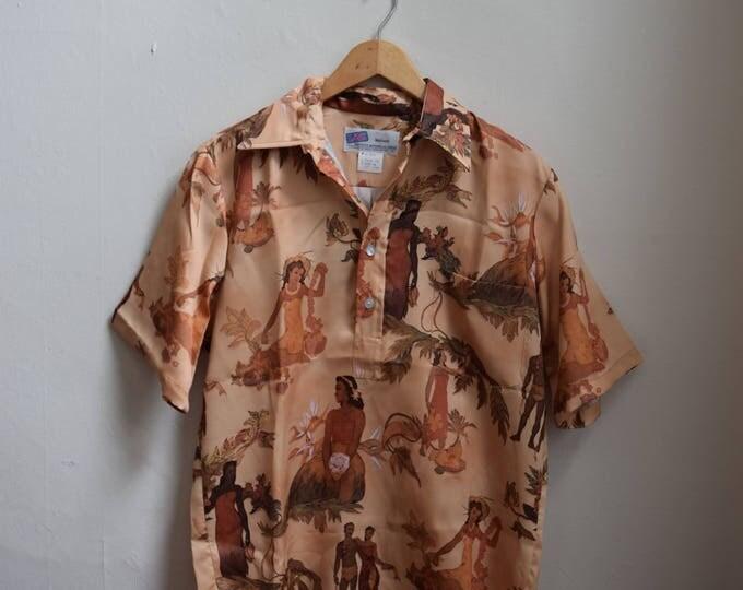 Art Deco Hawaiian Shirt.