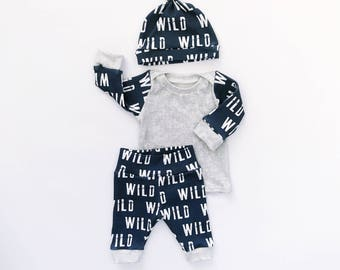 boy coming home outfit, baby boy, newborn boy, take home outfit, baby boy gift, baby boy clothing, organic baby outfit