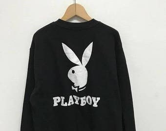 20% OFF Vintage Playboy Big Logo Sweatshirt,Playboy Sweater,Playboy Jumper