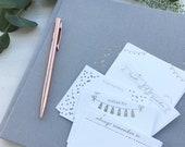 Wedding Wedlib Prompt Cards, Wedding Guestbook Cards, Guestbook Alternative