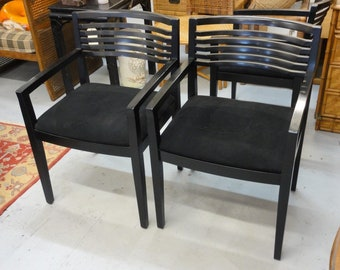 Pair of 90's Knoll Studio Arm Chairs