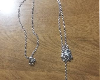 sea turtle necklace and anklet
