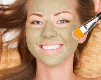 Organic Matcha Green Tea & Lemongrass Clay Facial Masque