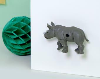 Kids Cupboard Knobs   Rhino Drawer Pull   Decorative Knobs   Animal Cabinet  Knobs   Decorative