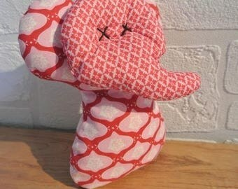 "Doudou Elephant ""Tilda Red"" two different designs"