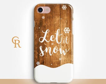 Christmas iPhone X Case For iPhone 8 iPhone 8 Plus - iPhone X - iPhone 7 Plus - iPhone 6 - iPhone 6S - iPhone SE - Samsung S8 - iPhone 5