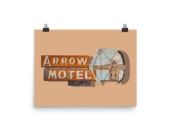 Arrow Motel photo print