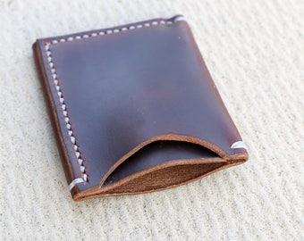 Minimalist Wallet (Horween Chomexcel Dark Brown)