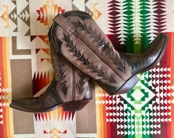 Hardly worn cowboy boots