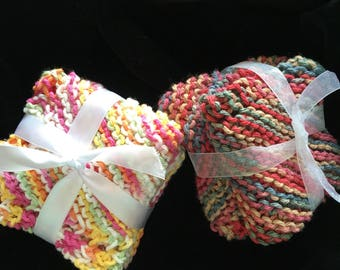 Kitchen knitted dish cloths