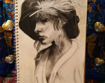 Sweet Stevie - Charcoal Portrait