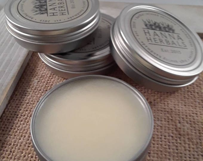Featured listing image: Under Eye Balm - Dry Skin Relief - Wrinkle cream - soothing cream - all natural eye cream - anti aging cream - Hanna Herbal