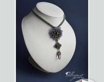 Necklace Aster - pattern in PDF (Russian language)