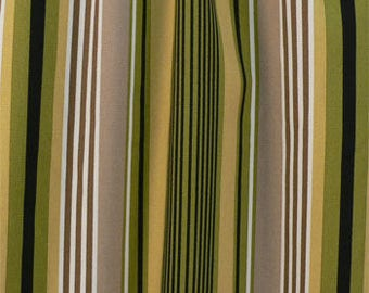 Striped Shower Curtain / Custom Boutique Shower Curtain / Extra wide & extra long also!