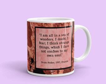 Bram Stoker's Dracula Mug, Horror Mug, Vampire, Goth Gifts