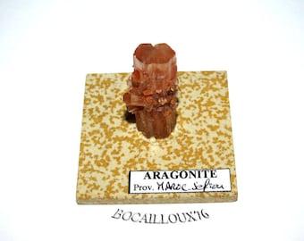ARAGONITE S142 - MOROCCO. Sefrou - mineral Collection