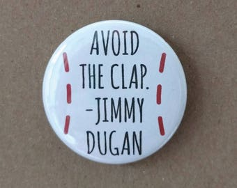 Jimmy Dugan Button or Magnet, A League of Their Own inspired Button, A League of Their Own inspired Magnet, Tom Hanks Characters