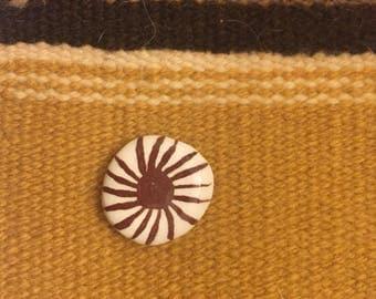 Ceramic Sun Pin
