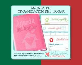 Agenda de organização doméstica