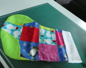 Christmas stocking, patchwork