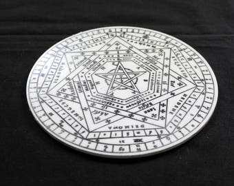 Sigillum Dei Aemeth | Enochian Magic | Enochian Magick | Seal of God | John Dee (5)