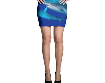 Shark School Mini Skirt
