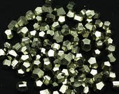 ONE Bag of Golden Dodecahedral Pyrite Crystals, China  - Minerals for Sale