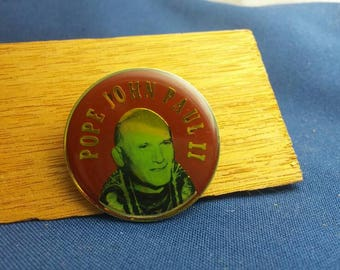 Pope John Paul II Pin - 1980s