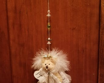 Angel bear suncatcher