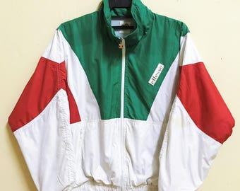Vintage Ellesse Color Block Windbreaker Jacket