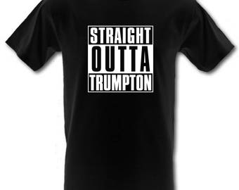 STRAIGHT OUTTA TRUMPTON Nwa Compton Cult Children's Tv Heavy Cotton t-shirt All Sizes S-XxL